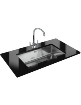 Kubus Designer Pack KBX 110 70 Stainless Steel Kitchen Sink And Tap