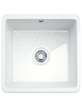 Kubus KBK 110 40 Ceramic 1.0 Bowl Undermount Kitchen Sink