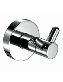 AR Series Round Robe Hook Chrome