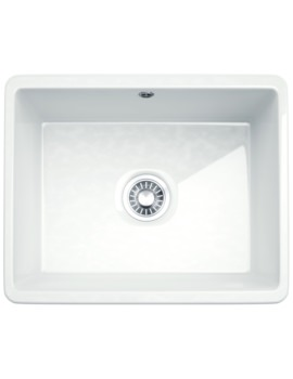 Kubus KBK 110 50 Ceramic 1.0 Bowl Undermount Kitchen Sink