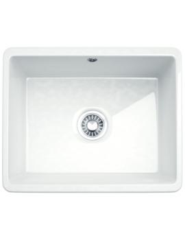 Kubus KBK 110 50 Ceramic 1.0 Bowl Undermount Kitchen Sink