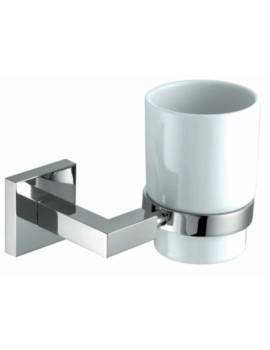 Courtnie Square Tumbler Holder With Cup