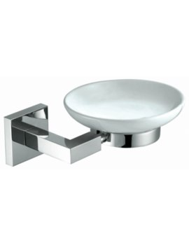 Courtnie Square Soap Dish Holder
