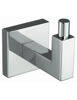 Phoenix Courtnie Square Robe Hook Chrome