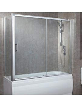 8mm Luxury Overbath Single Sliding Door 1700mm