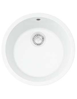 Rotondo RUK 110 Ceramic 1.0 Bowl Undermount Kitchen Sink