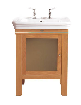 Cuda LH Vanity Unit With Glass Door And Etoile Basin