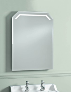 Victoriana 550mm LED Back-Lit Mirror With Heated Demister Pad