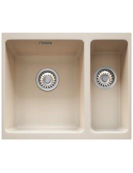 Franke Kubus KBG 160 Fragranite Coffee 1.5 Bowl Undermount Sink