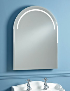 Balmoral 550mm LED Back-Lit Mirror With Heated Demister Pad