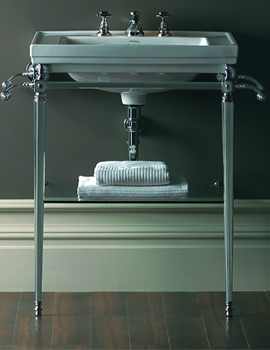 Astoria Deco Large Basin Stand And 640mm Basin
