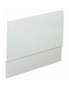 1100mm White High Gloss Bath End Panel