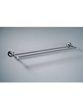 Phoenix Ariana Round Double Towel Bar Chrome