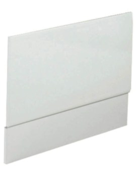 900mm White High Gloss Bath End Panel