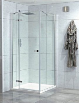 Idyllic 8mm 900mm Left Hand Hinged Shower Door