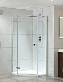 Idyllic Neo 900 x 900mm Left Hand Hinged Shower Door