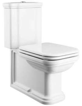 Waldorf Close Coupled WC Pan And Cistern 680mm