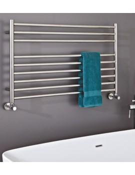 Phoenix Zonta 1000 x 600mm Pre-Filled Electric Radiator Stainless Steel