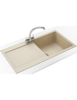 Franke Maris Propack MRG 611 Fragranite Coffee Kitchen Sink And Tap