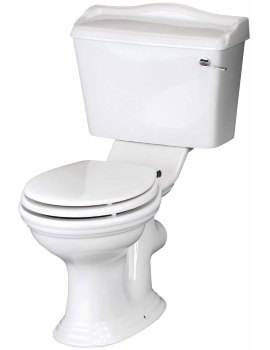 Regent Close Coupled WC With Cistern And Soft Close Seat
