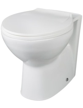 Nuie Premier Melbourne Back-To-Wall WC Pan 520mm