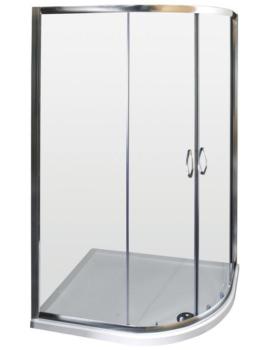 Lauren Ella Offset Quadrant Enclosure 1200 x 900mm - ERQ129