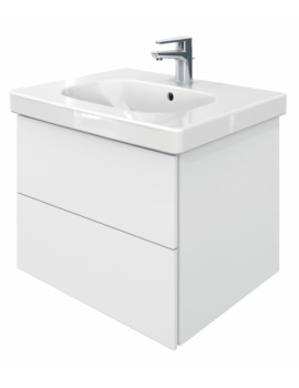 Delos 2 Drawers Unit With D-Code 650mm Basin