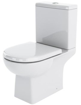 Lauren Asselby Close Coupled WC Pan 670mm And Cistern
