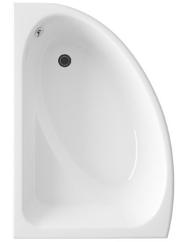 Melody Offset Corner Bath And Panel Left Hand 1500 x 1060mm