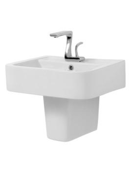Mac Q 570mm Basin And Semi Pedestal
