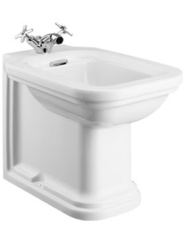 Waldorf Back To Wall Bidet 550mm