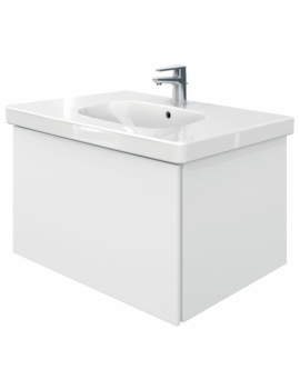 Delos 1 Compartment Unit With D-Code 850mm Basin