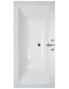 Idealcast Double Ended Rectangular Bath 1700mm