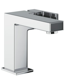 Abode Cento Basin Mixer Tap With Side Lever