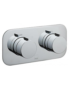 Tablet Altitude Horizontal 1 Outlet Concealed Thermostatic Valve