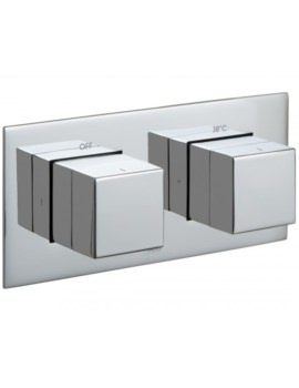 Tablet Notion Horizontal 2 Outlet Concealed Thermostatic Valve