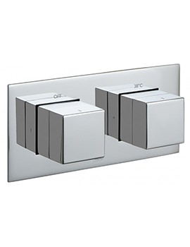 Tablet Notion Horizontal 1 Outlet Concealed Thermostatic Valve