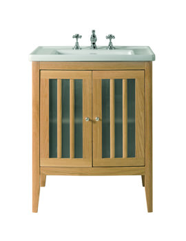 Radcliffe Linea Vanity Unit With Wood or Frosted Glass Doors