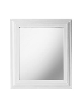 Astoria 607 x 770mm Small Mirror White
