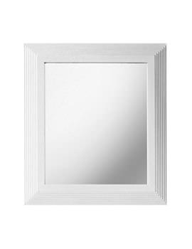 Astoria 607 x 770mm Small Mirror White