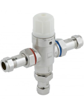 Vado Project Line Protherm In-Line Thermostatic Valve - PRO-5001-N/P