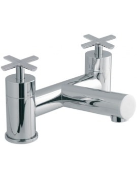 Tonic Deck Mounted 2 Hole Bath Filler Tap