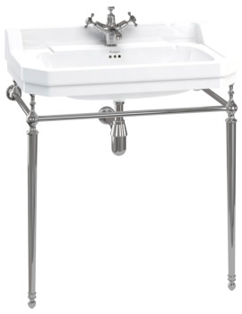 Edwardian 800mm Basin With Wash Stand