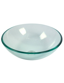 Redondo 420mm Round Countertop Transparent Basin