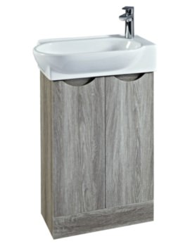 Boston 570mm Vanity Unit And Basin Avola
