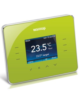 Warmup 3iE Programmable Leaf Green Finish Thermostat