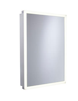 Nook 500 x 700mm Single Door Mirror Cabinet