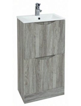 Malmo 400mm Floor Standing Avola Unit With Basin