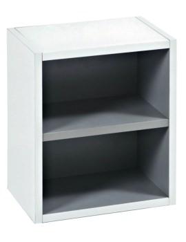 350mm Open Storage Unit White