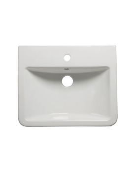 Tavistock Q60 515mm Standard Depth Semi Countertop Basin